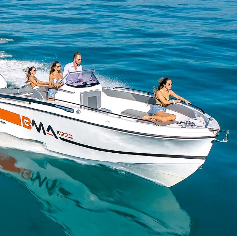 bma motori, modello x222 in vendita da nautica-cesare