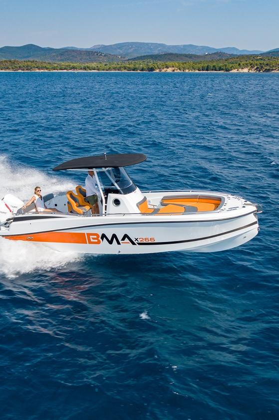 bma motori, modello x266 in vendita da nautica-cesare