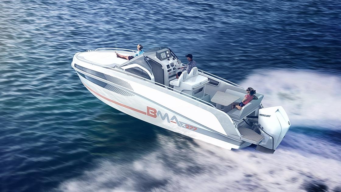 bma motori, modello x277 in vendita da nautica-cesare